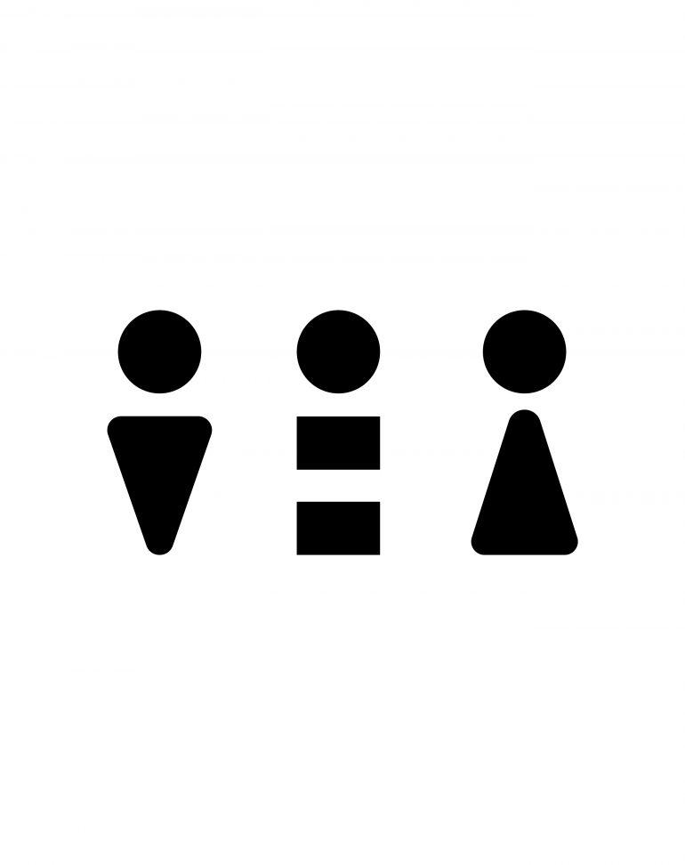 siegel gale designers create gender neutral bathroom icons siegel gale designers create gender